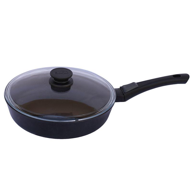 Сковорода с крышкой 28 см Классик Биол 28071PC