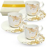 Набор чайный 12 пр Жаклин SNT 2325-4