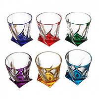 Набор стаканов для виски 340 мл 6 шт Quadro Bohemia 99999/72R93/932