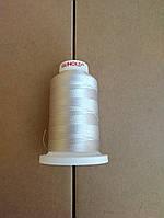 Нитки для машинной вышивки   GUNOLD  №40.  цвет 1325 ( СЕРЕБРО  ) 1000 м, фото 1