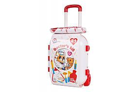 Детский игровой набор «Маленький доктор ТехноК» с чемоданом / Игровые пластиковые наборы для детей