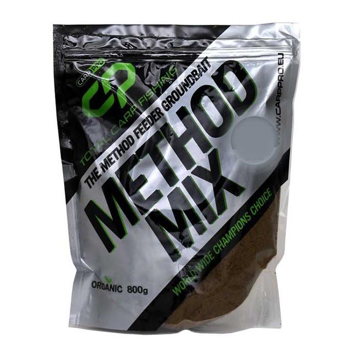 Прикормка Carp Pro Method Mix Sweetcorn (Сладкая кукуруза) 800г.