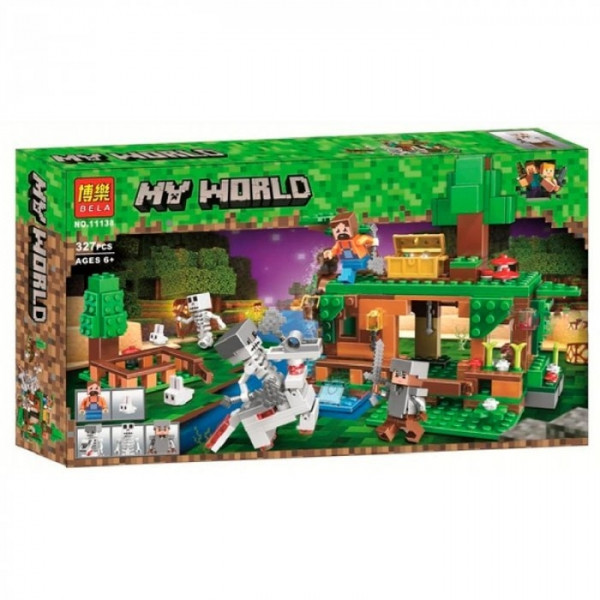 """Конструктор Bela Minecraft """"Битва за скарби"""", 327 деталей оптом"""