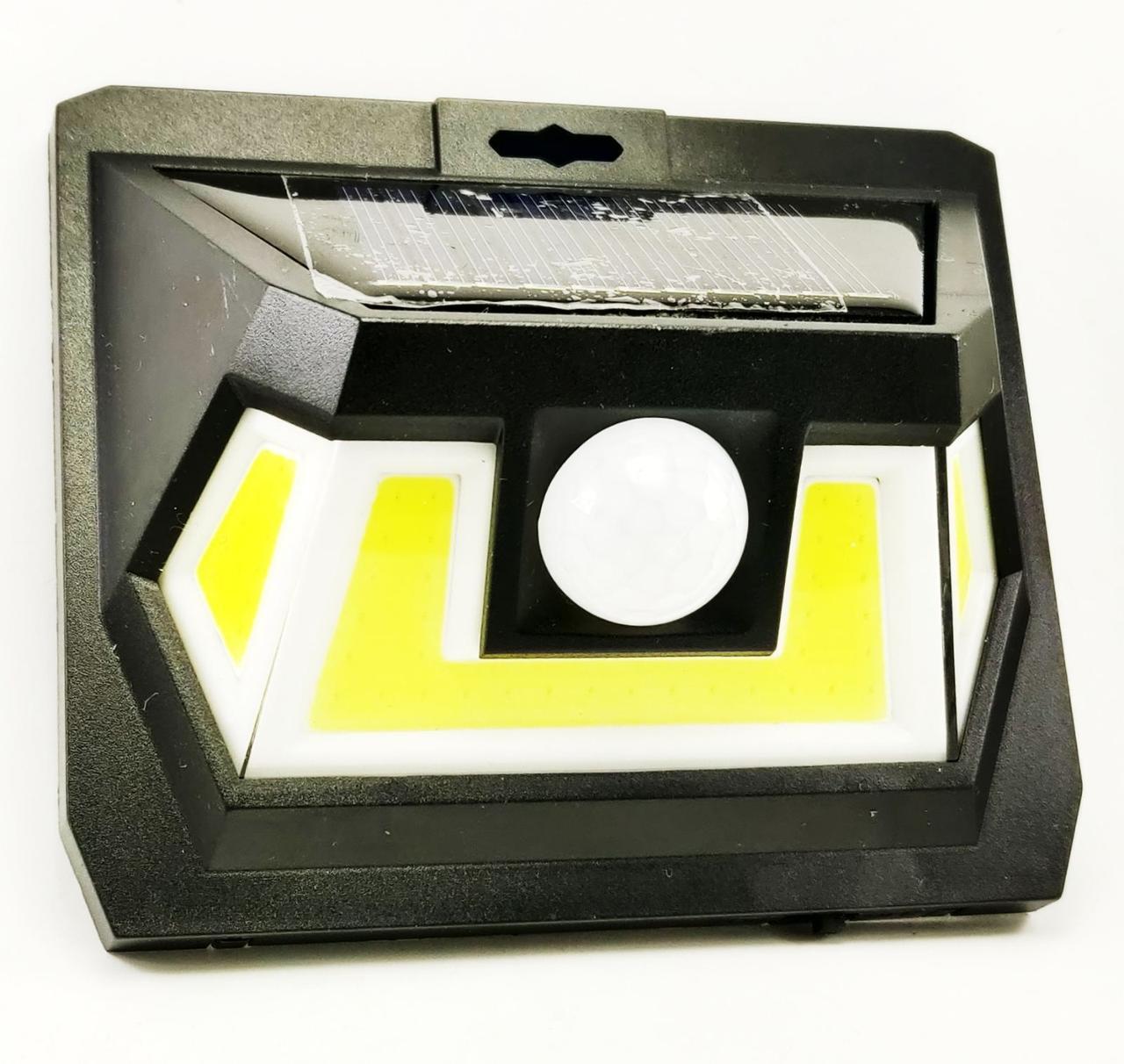 Уличный фонарь с датчиком движения на солнечной батарее LF-1622. Solar Interaction wall lamp.