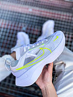 Женские кроссовки Nike Vista Lite (бело-салатовые) 2200