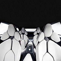 Чехлы автомобильные для сидений, мягкие  Lux  Комплект Для всех марок авто,BMW AUDI TOYOTA LANOS CHEVROLET