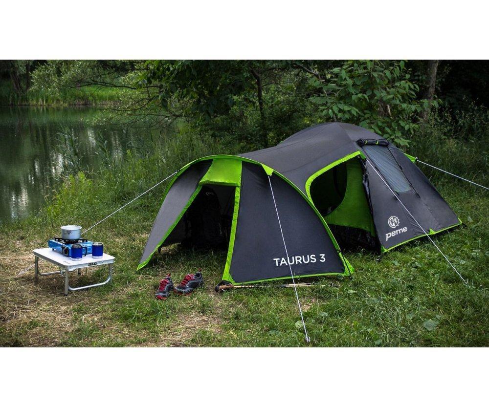 Туристическая палатка 3-х местная Taurus 3 Peme