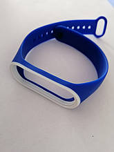 Ремінець Xiaomi Mi Band 3/4 Blue-white