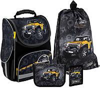 Рюкзак укомплектованный Kite Education Off-road 35x25x13 см 11.5 л Черный (SET_K20-501S-1)