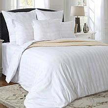 Комплект постельного белья от украинского производителя страйп-сатин Балерина Семейный