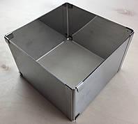 Кондитерская раздвижная форма Квадрат(  16 см - 28 см = 16 см - 28 см , В - 10 см  )