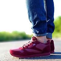 Мужские бордовые кроссовки
