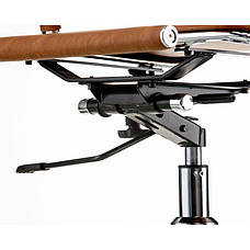 Кресло Special4You Solano artleather light-brown (E5777), фото 3