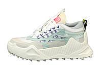 """Кроссовки женские ОFF-White 0dsy-1000 Sneaker """"Бежевые"""" размер 36-40"""