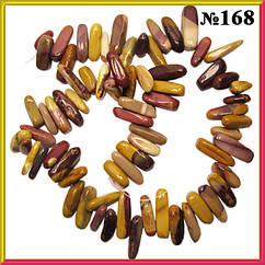 Сколы Агат Крупные Брусочками, Размер 10-20*3-6 мм, Около 40 см нить, Рукоделие, Бусина Натуральный Камень