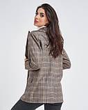 Клетчатый пиджак свободного кроя S, фото 3