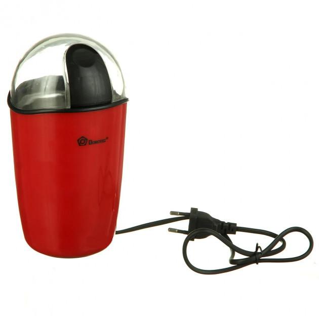 Кофемолка DOMOTEC MS-1306 Красная 200Вт, 70г