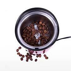 Кофемолка DOMOTEC MS-1306 Красная 200Вт, 70г, фото 3