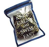 Водонепроницаемая сумка для мужских плавок ORGANIZE К003 синий
