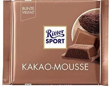 Шоколад Ritter Sport Kakao-Mousse (Какао Мус) 100 г Німеччина
