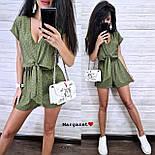 Женский летний комбинезон ромпер (в расцветках), фото 4