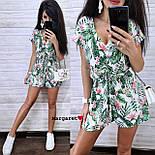 Женский летний комбинезон ромпер (в расцветках), фото 5
