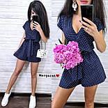 Женский летний комбинезон ромпер (в расцветках), фото 7