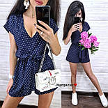Женский летний комбинезон ромпер (в расцветках), фото 8
