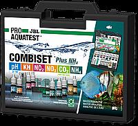 Тесты для анализа пресной воды JBL PROAQUATEST COMBISET Plus NH4 профессиональные, 6 параметров