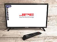 """Led Телевизор JPE 24"""" + Т2 тюнер,HD Ready,dvb-t2"""