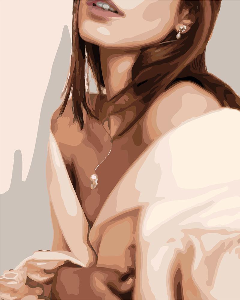 Картина по номерам Нежная красавица 40 х 50 см (KHO4713)