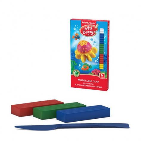 Пластилин Art Berry, 6 цветов, 108 гр., EK 41760, фото 2