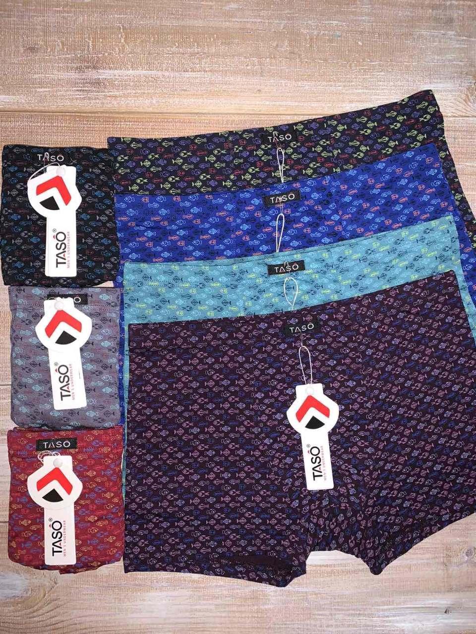 Трусы шорты мужские летние Taso 5649 модал с классической резинкой, размер XXL
