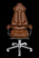 Эргономичное кресло KULIK SYSTEM IMPERIAL Коричневое 704, КОД: 1335611