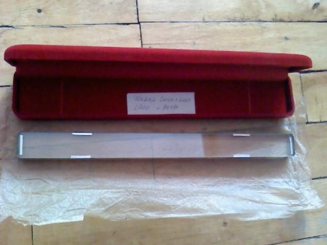 Мера длины штриховая брусковая тип II Б, разряд 2, L-200мм ГОСТ 12069-90,возможна калибровка в УкрЦСМ