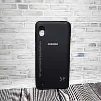 Чехол накладка Original Cover для Samsung A10 черный