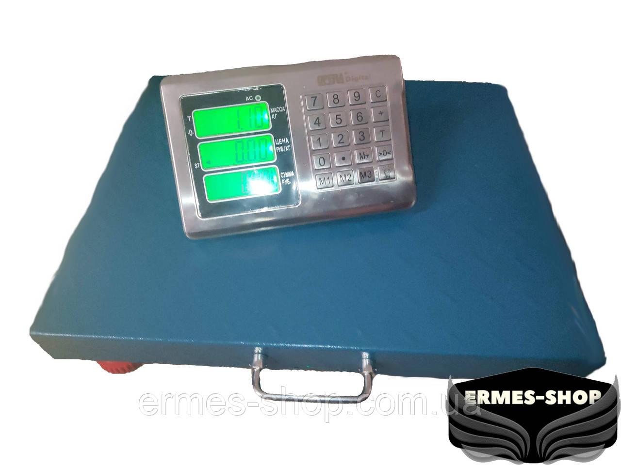 Торговые беспроводные напольные весы 300 кг   Wi-fi