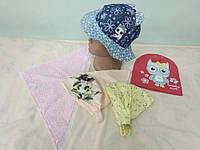 Распродажа!!!  Набор головных уборов.Для девочек 1-2 года.