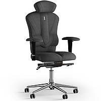 Кресло KULIK SYSTEM VICTORY Ткань с подголовником без строчки Серый 8-901-BS-MC-0506, КОД: 1668962