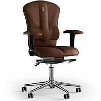 Кресло KULIK SYSTEM VICTORY Экокожа без подголовника без строчки Коричневый 8-909-BS-MC-0214, КОД: 1669039