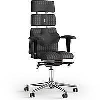 Кресло KULIK SYSTEM PYRAMID Ткань с подголовником со строчкой Черный 9-901-WS-MC-0507, КОД: 1669083
