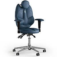 Кресло KULIK SYSTEM TRIO Антара с подголовником без строчки Кобальтовый 14-901-BS-MC-0304, КОД: 1676918