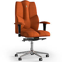 Кресло KULIK SYSTEM BUSINESS Ткань без подголовника без строчки Оранжевый 6-909-BS-MC-0510, КОД: 1685867