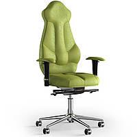Кресло KULIK SYSTEM IMPERIAL Антара с подголовником без строчки Оливковый 7-901-BS-MC-0303, КОД: 1685889