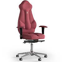 Кресло KULIK SYSTEM IMPERIAL Ткань с подголовником со строчкой Коралловый 7-901-WS-MC-0514, КОД: 1685955