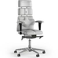 Кресло KULIK SYSTEM PYRAMID Кожа с подголовником со строчкой Белый 9-901-WS-MC-0102, КОД: 1685999
