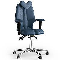Кресло KULIK SYSTEM FLY Антара с подголовником без строчки Кобальтовый 13-901-BS-MC-0304, КОД: 1689599