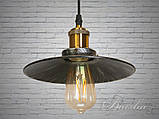 Люстра-подвес светильник в стиле Loft 6856-210-BK-SV, фото 3
