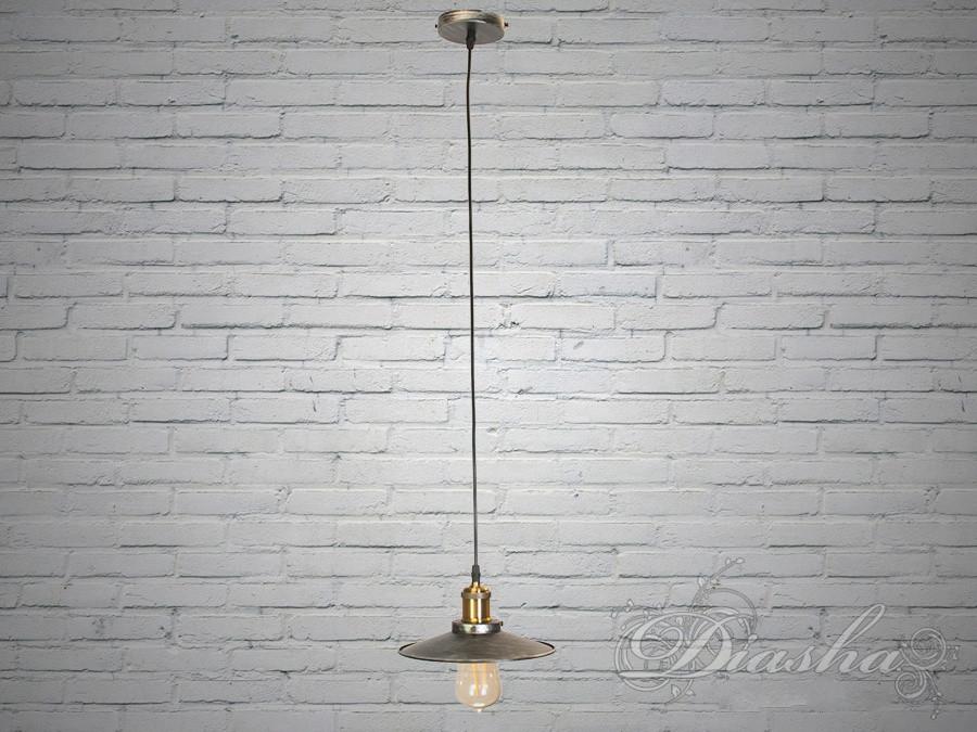 Люстра-подвес светильник в стиле Loft 6856-210-BK-SV