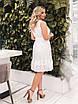 Белое летнее расклешенное Платье, фото 8